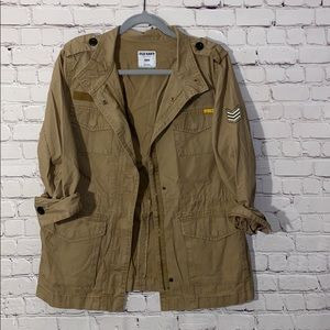 Old Navy Military Style Jacket.